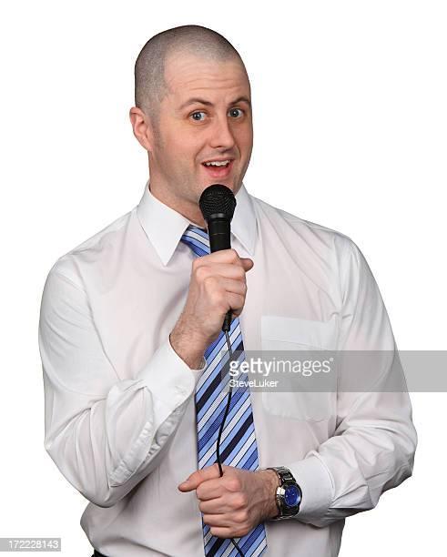 Businessman Karaoke