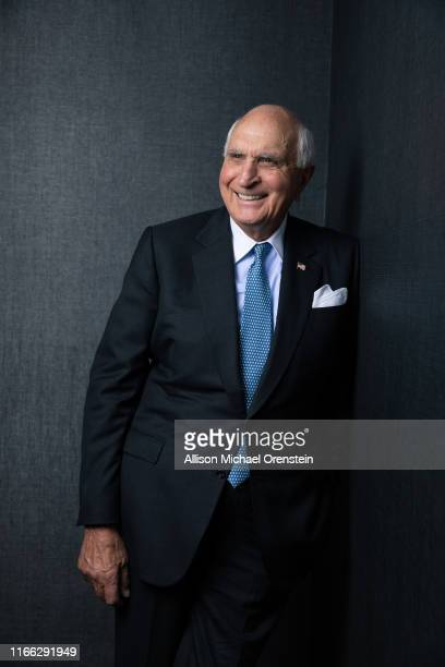 Businessman Kenneth Langone is photographed for the Wall Street Journal on April 27 2018 at his office in New York City