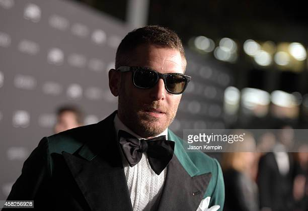 Businessman Lapo Elkann, wearing Gucci, attends the 2014 LACMA Art + Film Gala honoring Barbara Kruger and Quentin Tarantino presented by Gucci at...