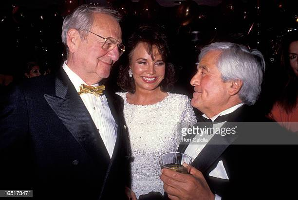 Businessman Lee Iacocca and wife Darrien and businessman Fred Hayman attends the Party to Celebrate Fred Mayman's New Fragrance …with Love on May 9...