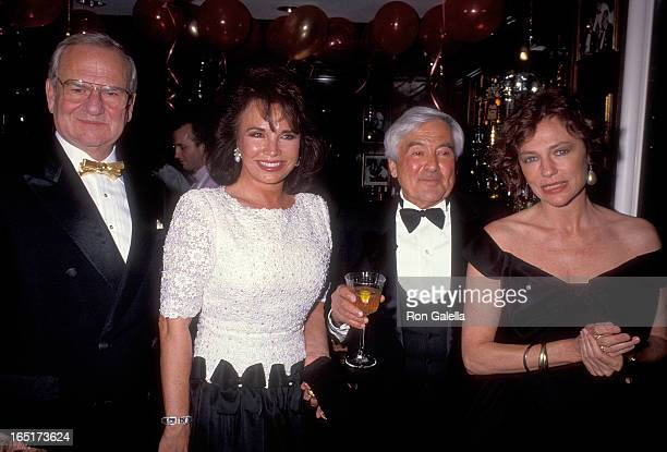 Businessman Lee Iacocca and wife Darrien businessman Fred Hayman and actress Jacqueline Bisset attend the Party to Celebrate Fred Mayman's New...