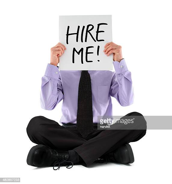Businessman Looking for a Job