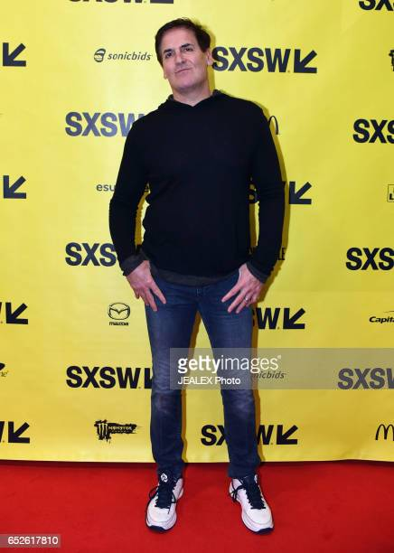 Businessman Mark Cuban attends 'Mark Cuban Tech Execs Is Govt Disrupting Disruption' during 2017 SXSW Conference and Festivals at Austin Convention...