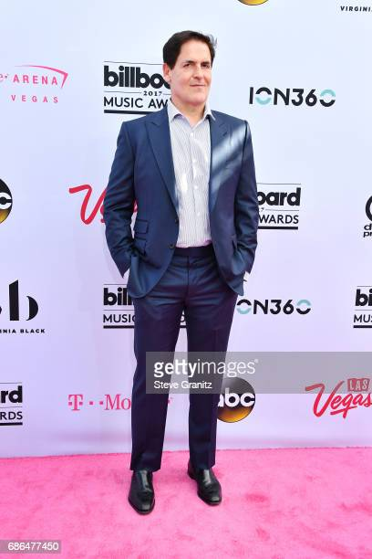 Businessman Mark Cuban attends the 2017 Billboard Music Awards at TMobile Arena on May 21 2017 in Las Vegas Nevada