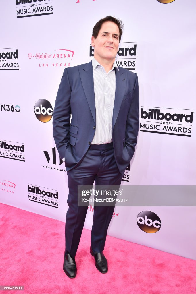Businessman Mark Cuban attends the 2017 Billboard Music Awards at T-Mobile Arena on May 21, 2017 in Las Vegas, Nevada.