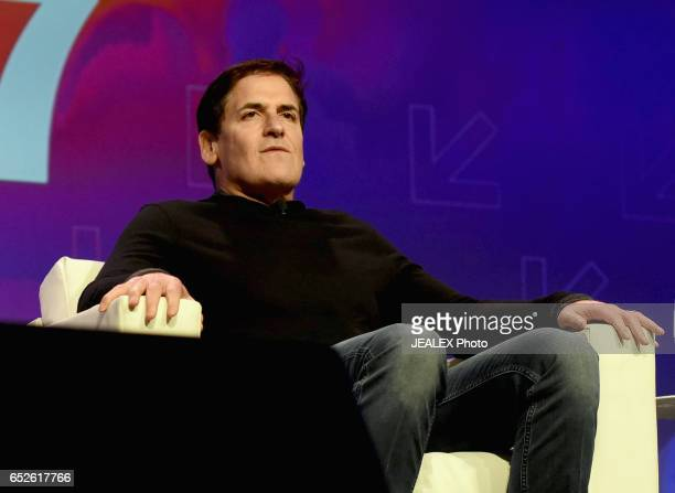 Businessman Mark Cuban speaks onstage at 'Mark Cuban Tech Execs Is Govt Disrupting Disruption' during 2017 SXSW Conference and Festivals at Austin...