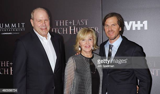 Businessman Michael Eisner Jane Breckenridge and director Breck Eisner attend the The Last Witch Hunter New York premiere at AMC Loews Lincoln Square...
