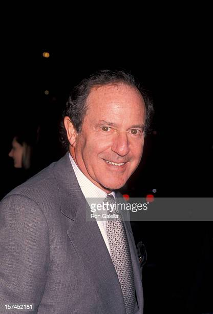 Businessman Mort Zuckerman attending Red Cross Benefit for Kosovo on May 3 1999 at the Kit Kat Club in New York City New York