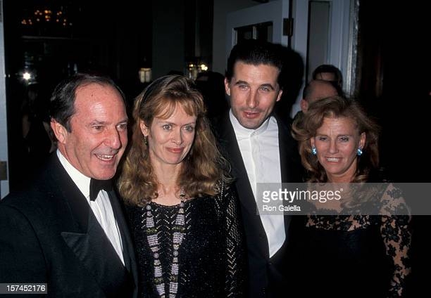 Businessman Mort Zuckerman wife Marla Prather and actor William Baldwin attending Eighth Annual International Press Freedom Awards on November 24...