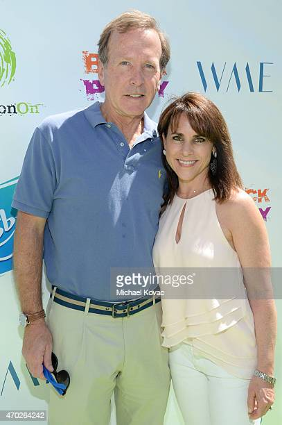 Businessman Neil Bush and Maria Bush attend the Points of Light generationOn Block Party on April 18 2015 in Los Angeles California
