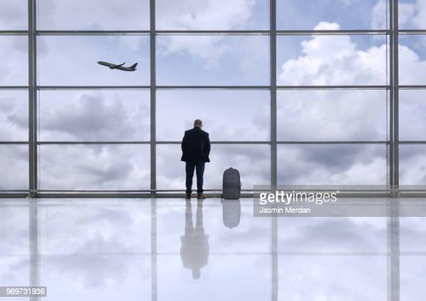 Businessman on airport