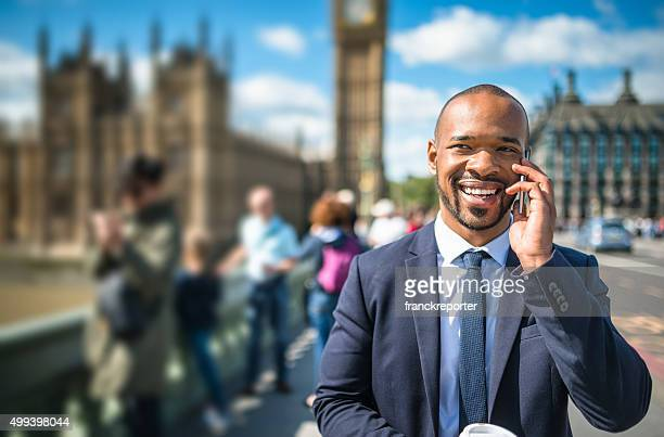 businessman on the phone in london - international politics stock pictures, royalty-free photos & images