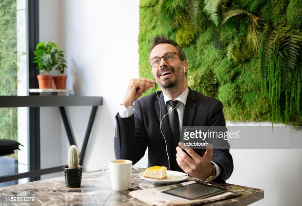 businessman on the phone - phone message stock pictures, royalty-free photos & images