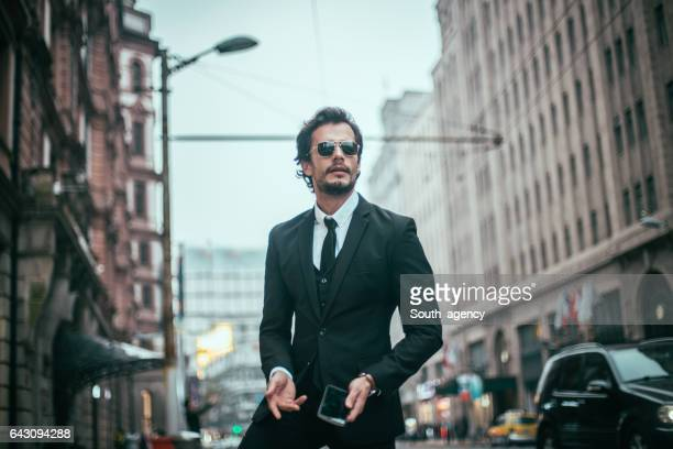 Businessman on the street