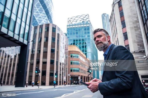 Businessman on the street