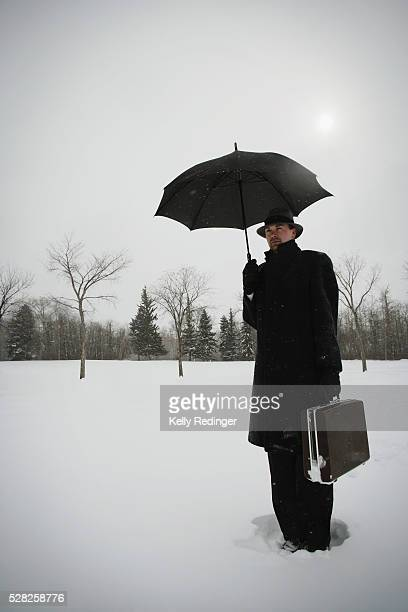 A Businessman Out in the Cold