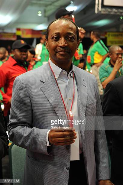 Businessman Patrice Motsepe attends Cosatu's 11th National Conference at Gallagher Estate on September 17 2012 in Midrand South Africa Delegates held...