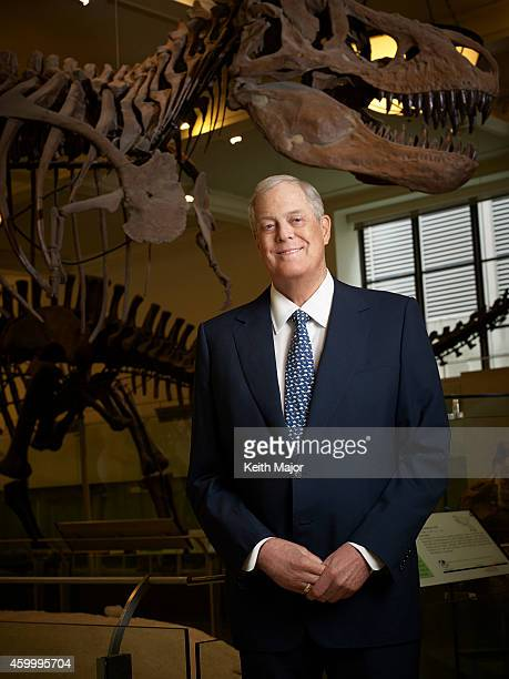 Businessman philanthropist David Koch is photographed for the October 2014 issue of Avenue Magazine in New York City PUBLISHED IMAGE