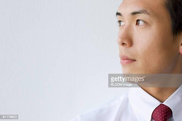 Businessman, portrait, close-up