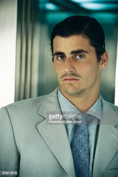 businessman, portrait - オールバック ストックフォトと画像