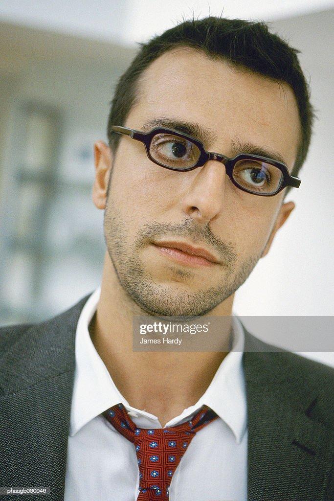 Businessman, portrait : Stockfoto