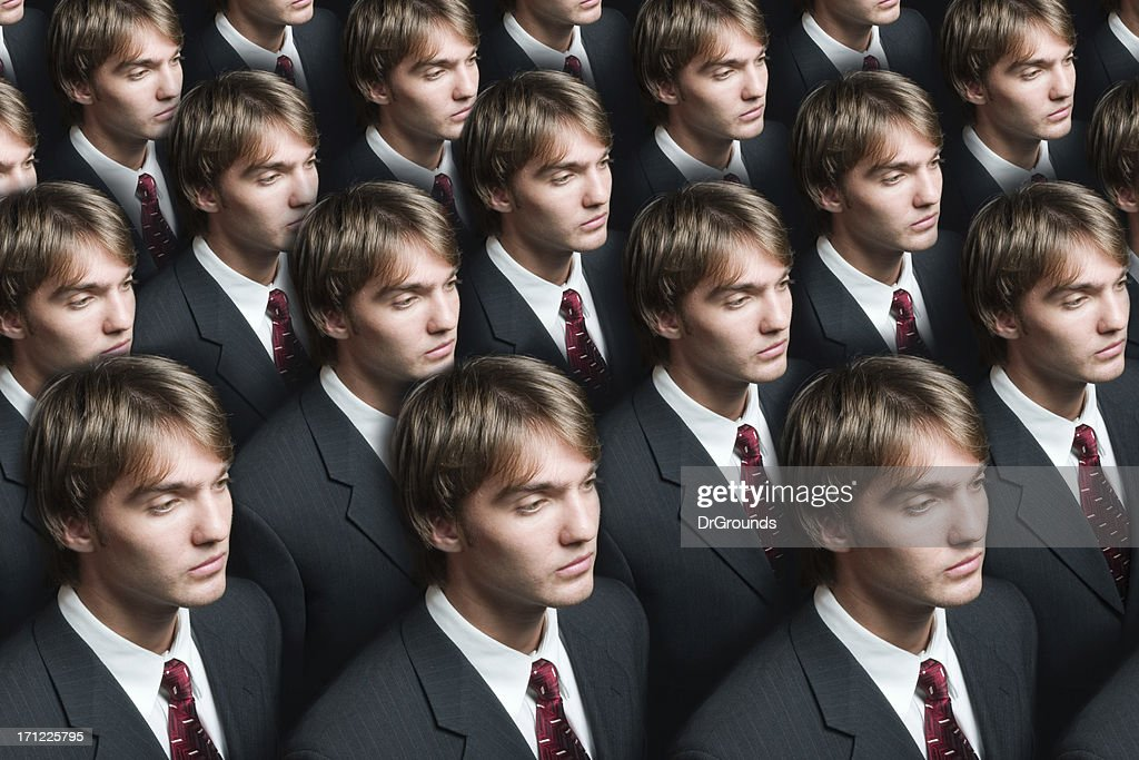 Businessman production : Stock Photo