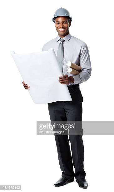 Geschäftsmann liest Werkzeuge