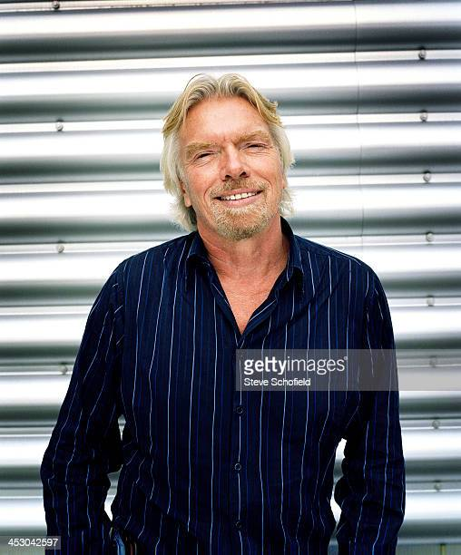 Businessman Richard Branson is photographed on July 23 2007 in London England