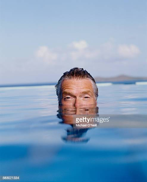 Businessman Richard Branson is photographed on Necker Island in August 2003