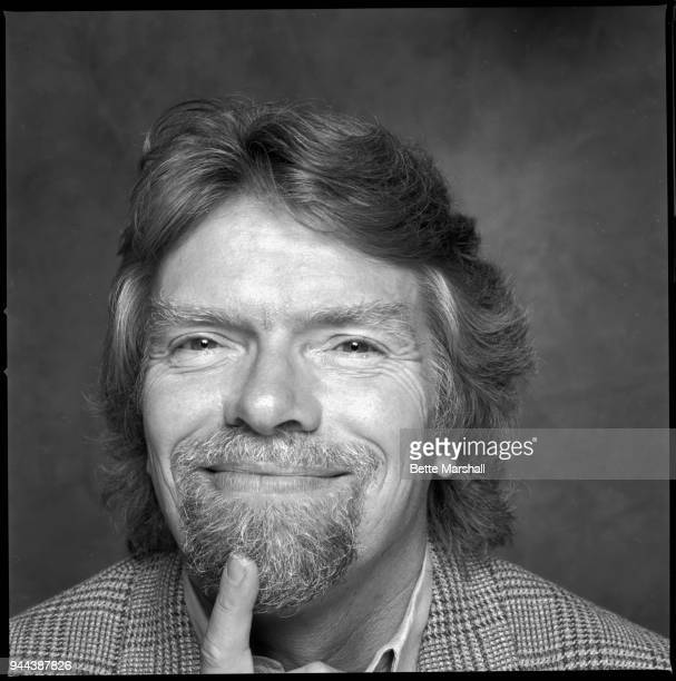 Businessman Richard Branson photographed for Avenue Magazine in 1995 in New York City