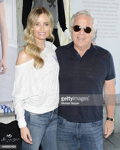 Businessman Robert Kraft and actress Ricki Lander at 2016 ESPYs Talent Resources Sports Luxury Lounge on July 12, 2016 in Los Angeles, California.
