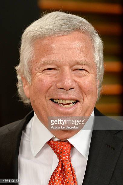 Businessman Robert Kraft attends the 2014 Vanity Fair Oscar Party hosted by Graydon Carter on March 2, 2014 in West Hollywood, California.