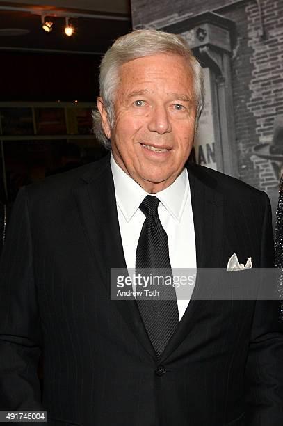 Businessman Robert Kraft attends the Carnegie Hall 125th Season Opening Night Gala at Carnegie Hall on October 7, 2015 in New York City.