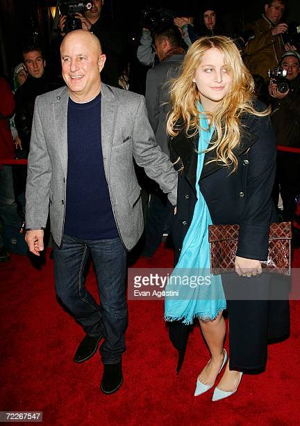 Businessman Ron Perelman and daughter Samantha Perelman arrive to celebrate Marchesa's second anniversary at Bergdorf Goodman October 25 2006 in New...