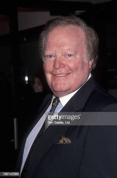 Businessman Roone Arledge attends the screening of 'Cookie's Fortune' on March 24 1998 at 86th Street Cinema in New York City