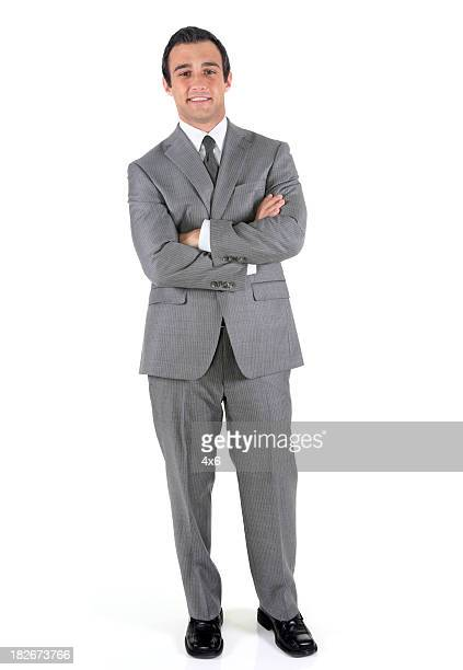 businessman smiling - grey suit stock pictures, royalty-free photos & images