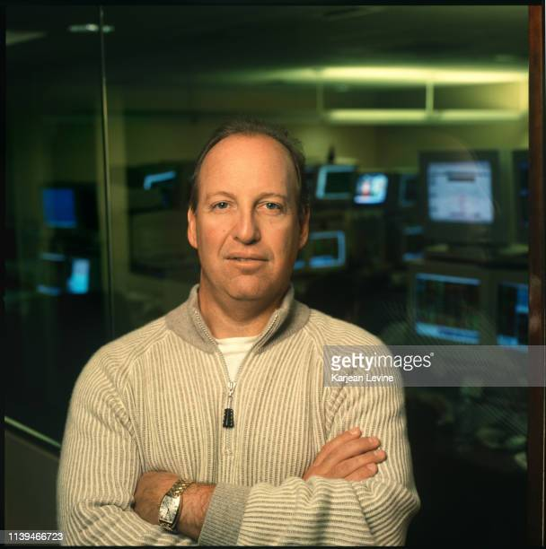 Businessman Steven Schonfeld poses for a portrait at the offices of his hedge fund on January 29 2004 in New York City New York