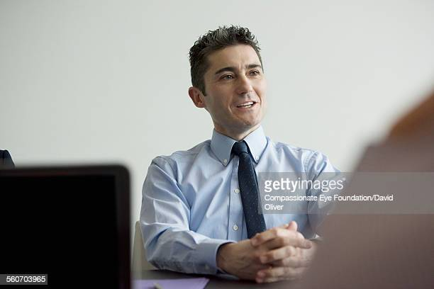 businessman talking in meeting - cef do not delete stock pictures, royalty-free photos & images