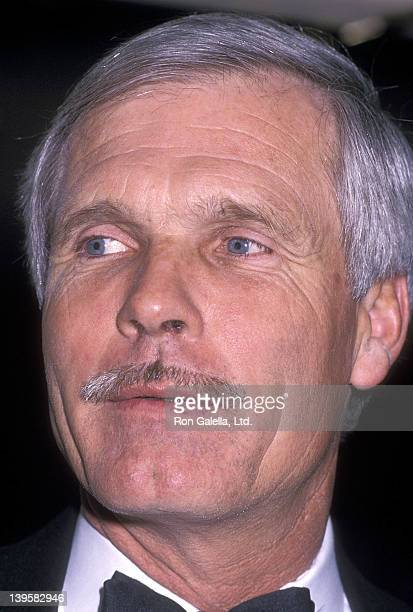 Businessman Ted Turner attends the International Radio Television Society's Gold Medal Award Salute to Walter Cronkite Bob Hope Paul Harvey Edward...