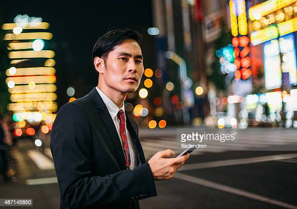 ビジネスマンメール、電話