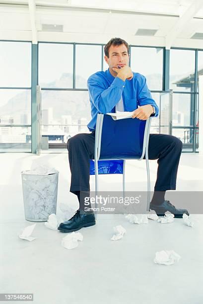 ビジネスマンを考えるオフィス