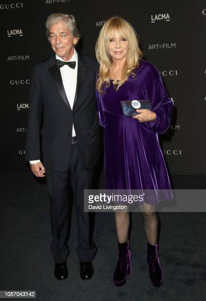 Businessman Todd Morgan and actor Rosanna Arquette attend 2018 LACMA Art Film Gala honoring Catherine Opie and Guillermo del Toro presented by Gucci...