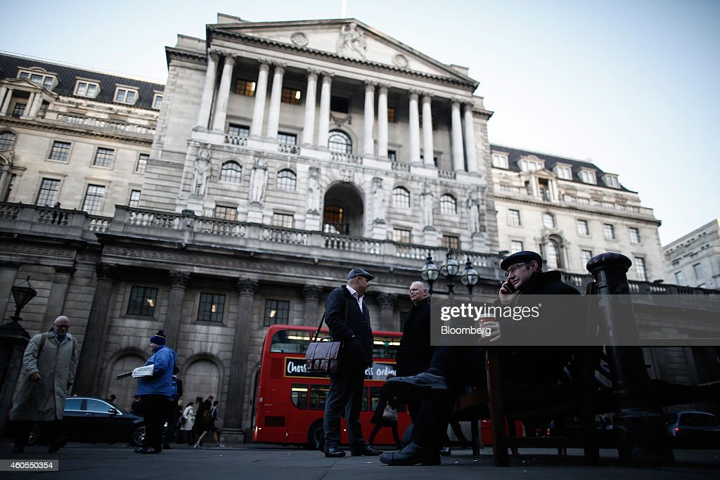 Bank Of England As Central Bank Releases Stress Test Results : News Photo