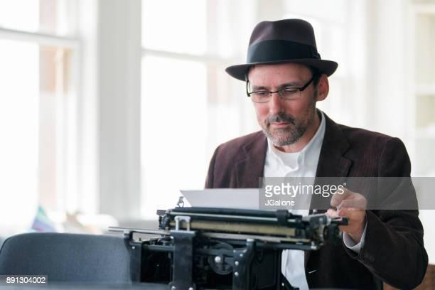 タイプライターの実業家