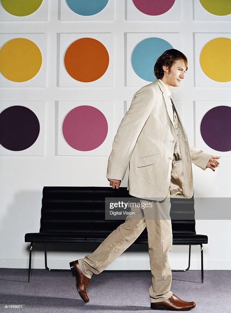 Businessman Walking : Stock Photo