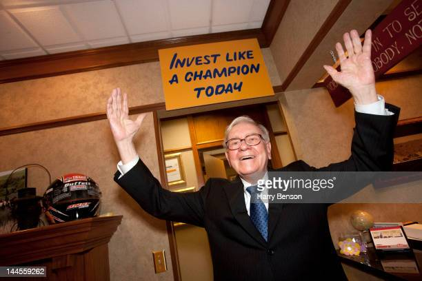 Businessman Warren Buffett photographed for Forbes Magazine on January 31 2012 in Omaha Nebraska