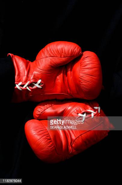 businessman wearing boxing gloves - combat sport stock pictures, royalty-free photos & images