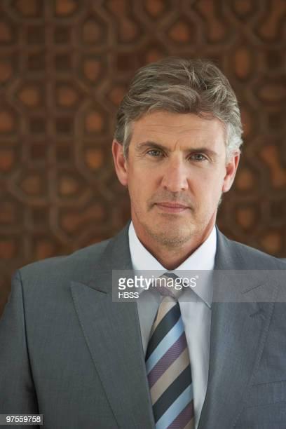 Businessman wearing gray suit