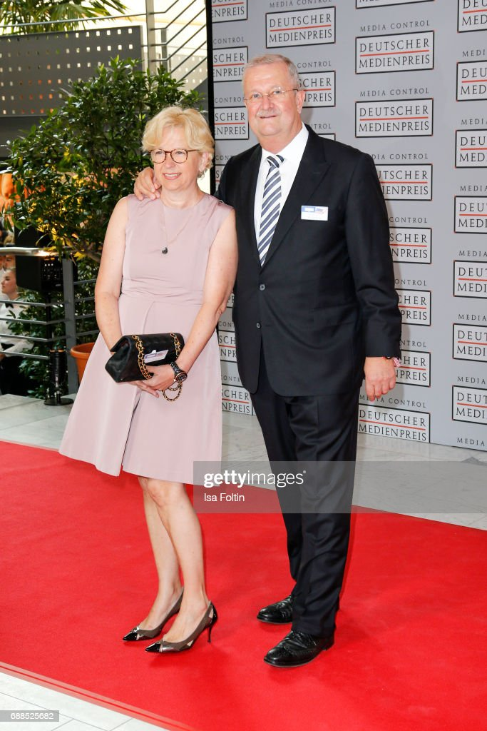 Businessman Wendelin Wiedeking and his wife Ruth Wiedeking during the German Media Award 2016 at Kongresshaus on May 25, 2017 in Baden-Baden, Germany. The German Media Award (Deutscher Medienpreis) has been presented annually since 1992 to honor personalities from public life.