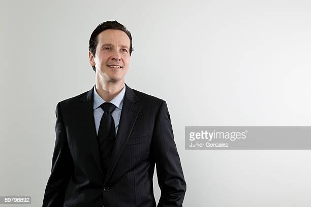 A businessman with aspirations, portrait